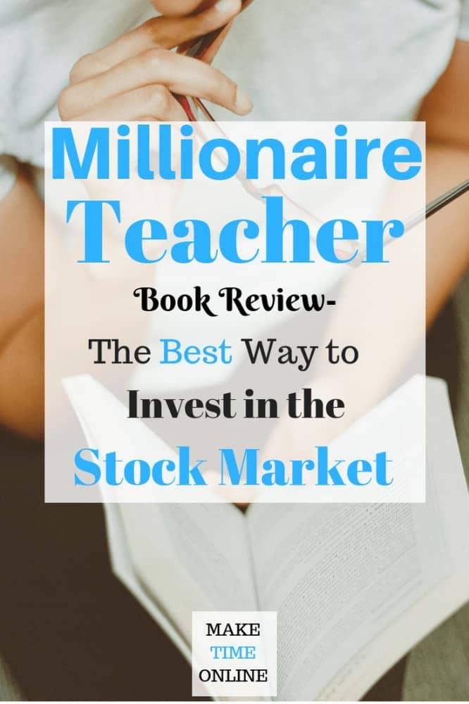 Millionaire Teacher book review