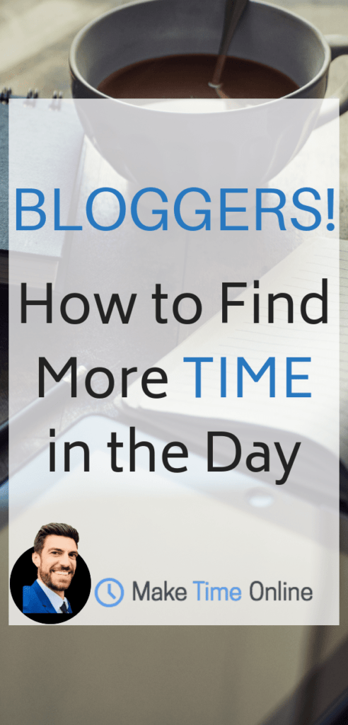 How to find more time in a day