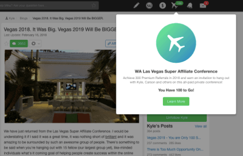 Wealthy Affiliate Review Vegas