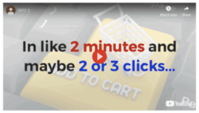 Real Profits Online 2 Minutes and maybe 2 or 3 clicks
