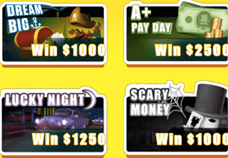 Lucky Day App Scratchers