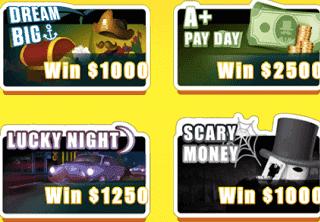 Lucky Day App Scratchers