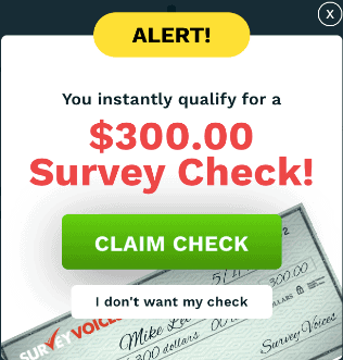 Survey Voices Scam
