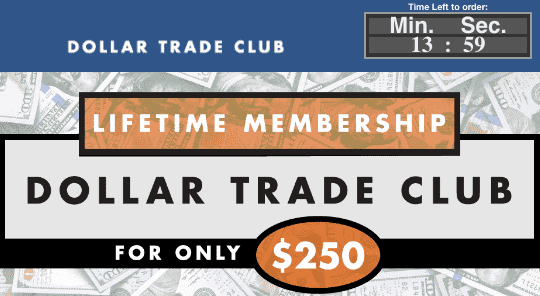 Dollar Trade Club Checkout