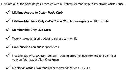 Dollar Trade Club Product