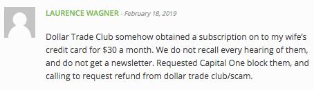 Dollar Trade Club Review