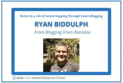 Ryan Biddulph Blogging From Paradise
