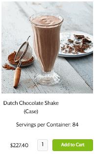 Optavia protein shake