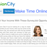 Opinion City Survey Review
