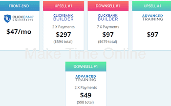 CB University 2.0 Review upsells