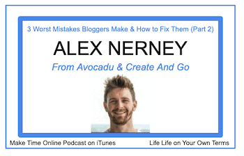 Alex Nerney Podcast from Create and Go