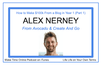 Alex Nerney from Create and Go podcast
