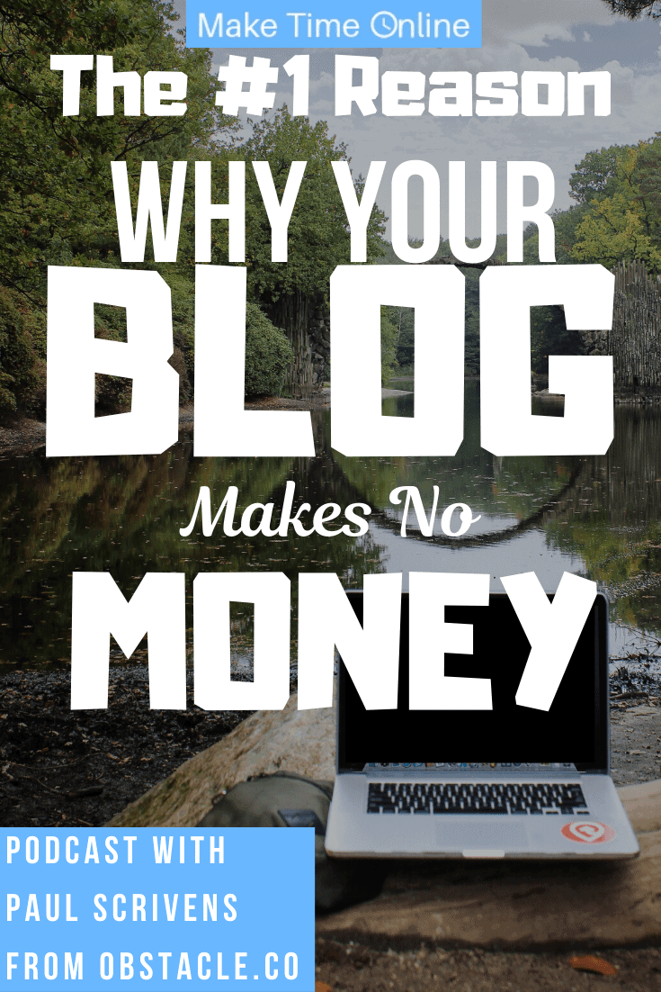 Why your blog makes no money