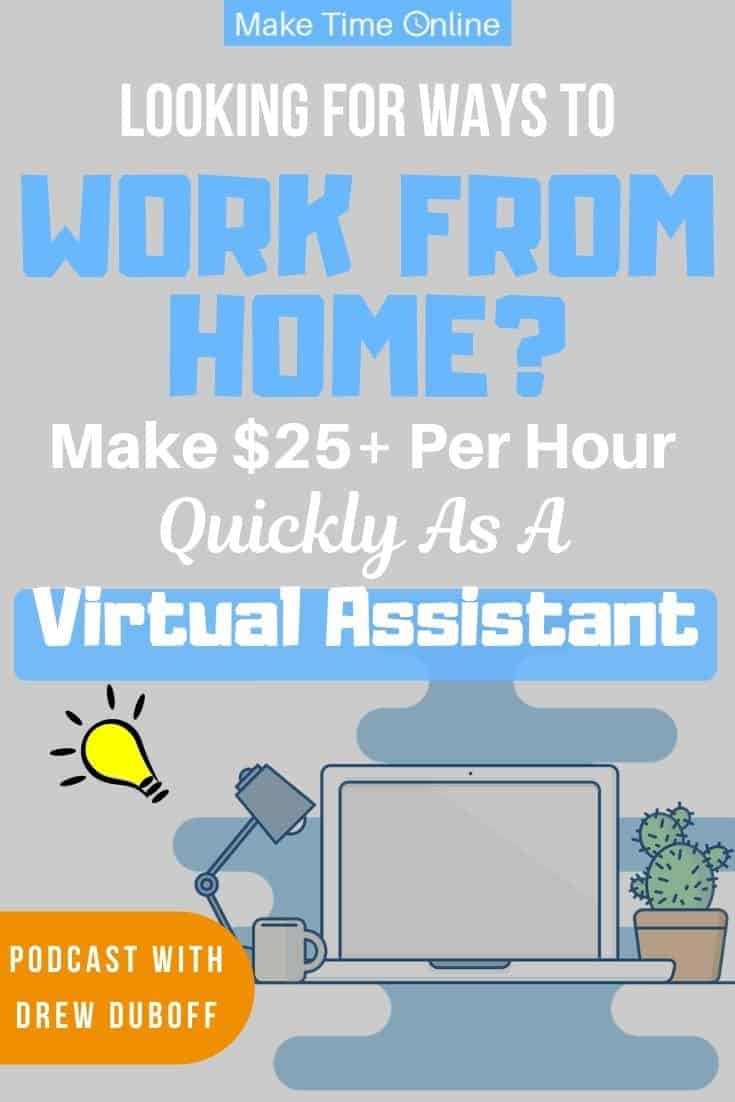 How to Make $50k a Year Working 10 Hours a Week as a Virtual Assistant- Drew DuBoff Podcast