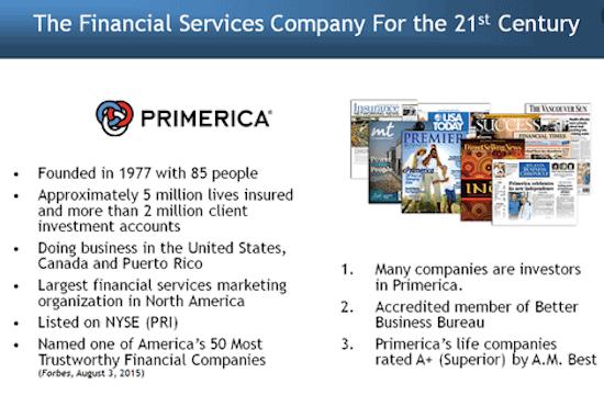 Is Primerica a pyramid scheme?