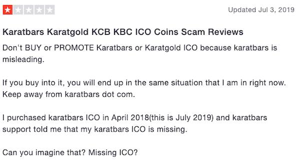 Karatbars review