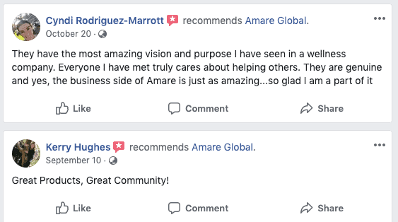 Amare Global MLM Review