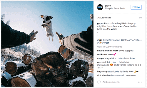 GoPro engaging audeince- Make $1,000 a month online
