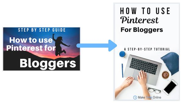 How to use Pinterest for Bloggers- Pinterest Design Good vs Bad