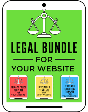 Blogging templates Legal Bundle