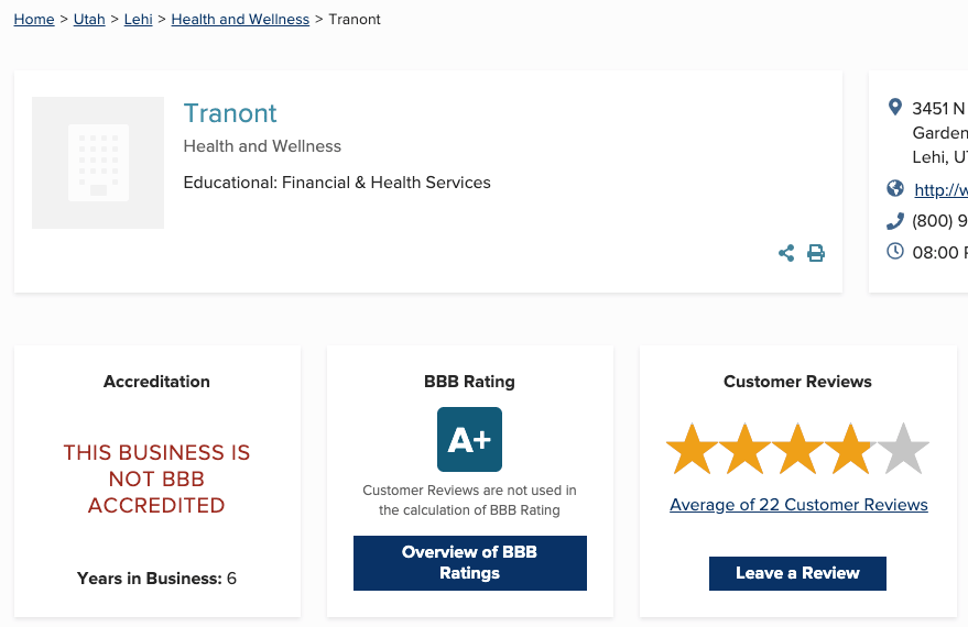 Tranont Review- Is Tranont a Pyrmaid scheme?
