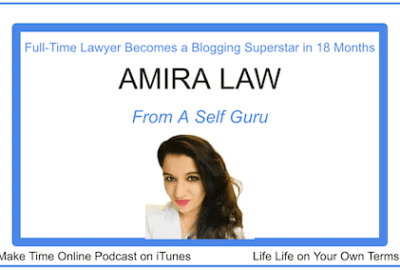 Full-Time Lawyer Becomes a Blogging Superstar in 18 Months- Amira Law Podcast