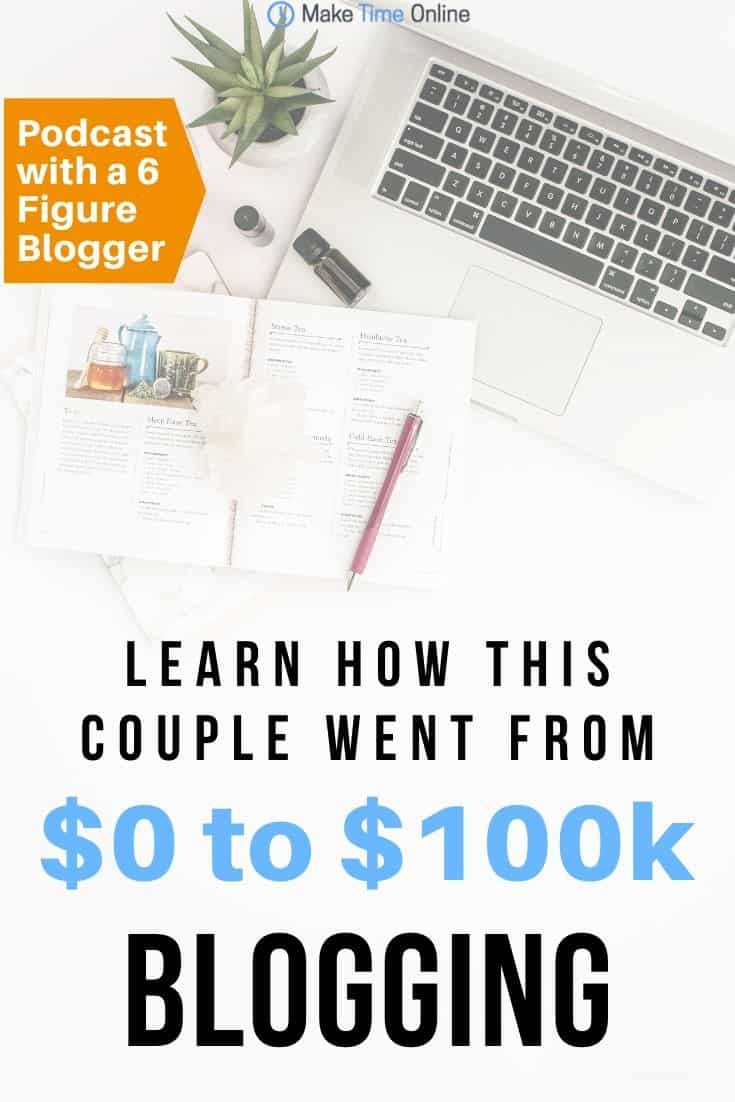 The Savvy Couple Podcast- How They went from $0 to $100k blogging