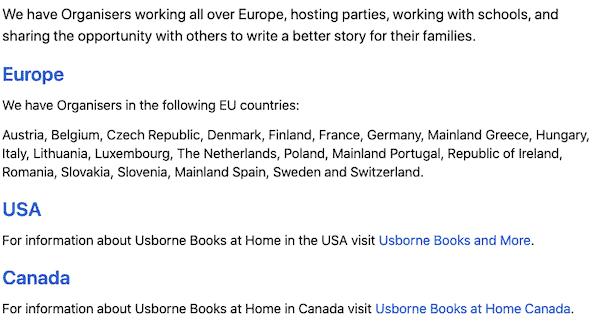 Usborne Books MLM