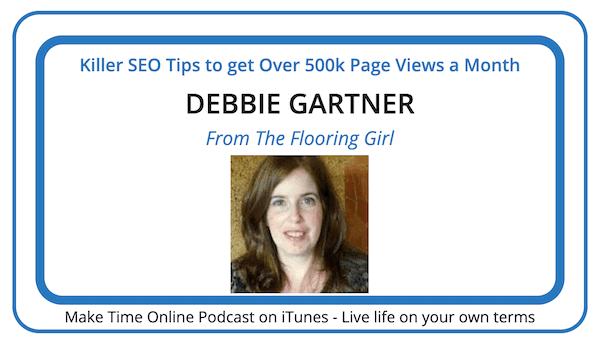 Debbie Gartner podcast- From The Flooring Girl