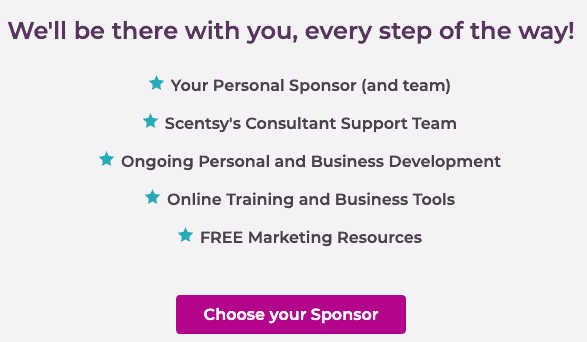 Scentsy support