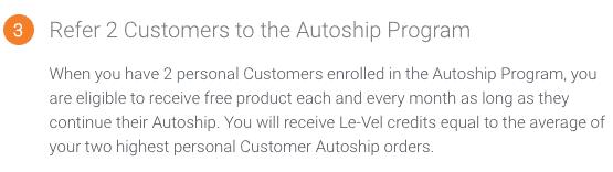 Le-Vel Thrive Autoship
