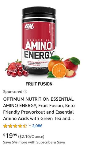 Amazon supplements
