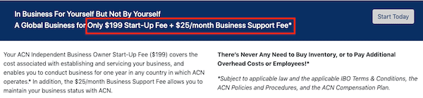 ACN price to join