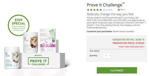 Shaklee MLM review