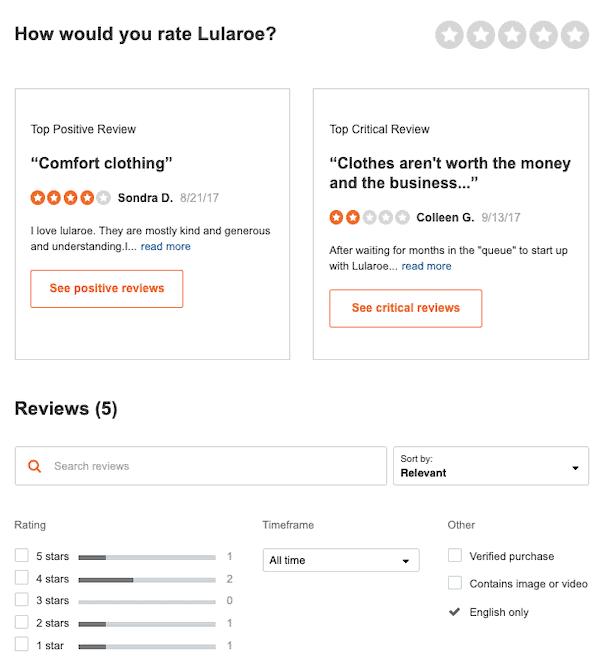 LuLaRoe MLM Review- Can you really make money selling LuLaRoe
