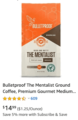 Bulletproof coffee-min