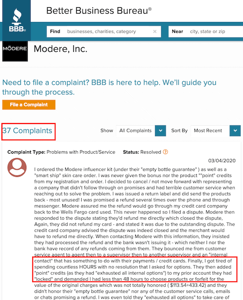 Is Modere a scam- review-min
