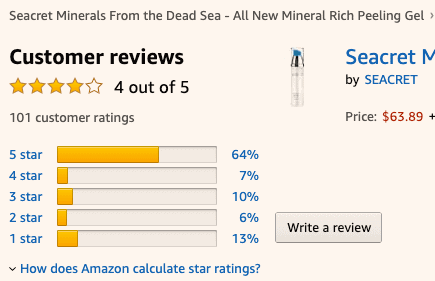 Seacret Direct Review- Amazon-min