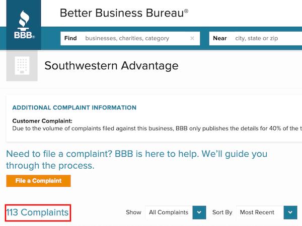 Southwestern Advantage reviews-min