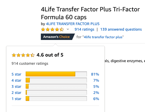 is 4Life a scam- amazon reviews