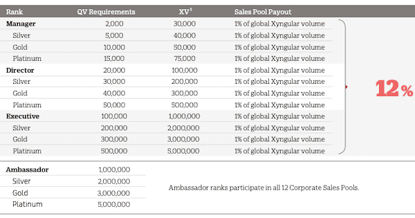 is Xyngular a pyramid scheme- compensation plan-min