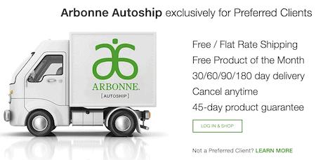 Arbonne review- autoship-min