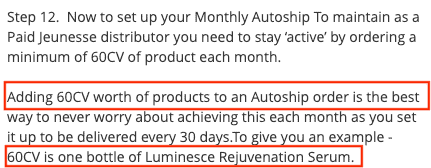 Is Jeunesse a scam- monthly autoship-min