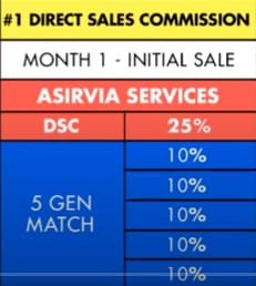 Is Asirvia a Scam: Compensation Plan
