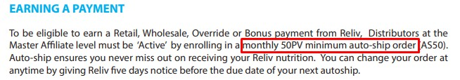 Is Reliv International a Scam: Cons 2
