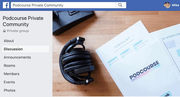 Podcourse Private Facebook Group-min