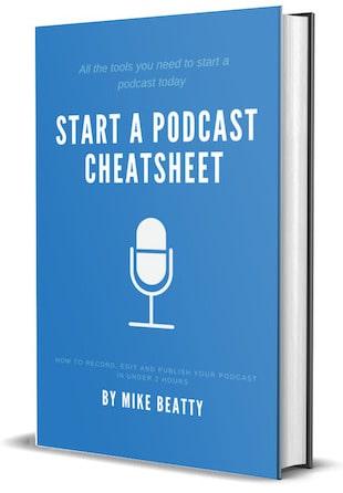 Start a Podcast Cheatsheet