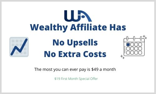 Wealthy Affiliate Upsells