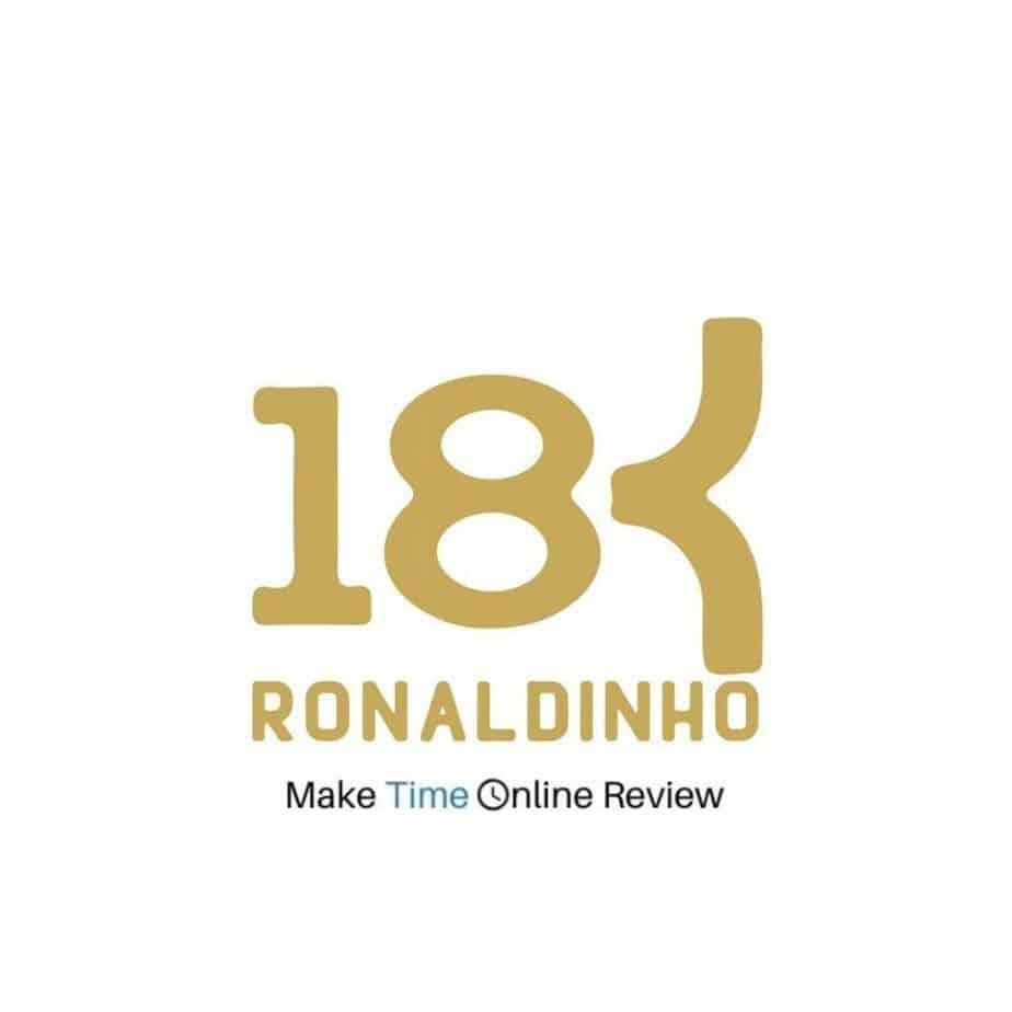 18k Ronaldinho MLM Review: Logo