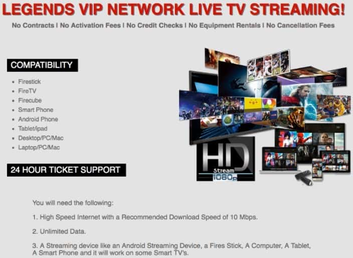 Is Legends VIP Network a Scam: Flagship